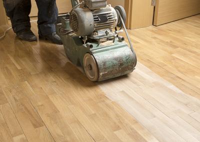 bewerken laminaat vloer